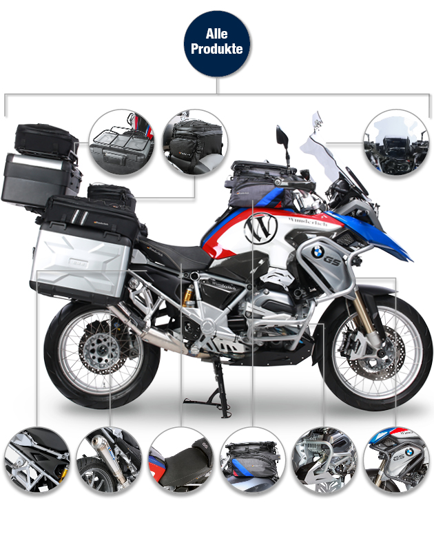 wunderlich highlights bmw r 1200 gs lc. Black Bedroom Furniture Sets. Home Design Ideas