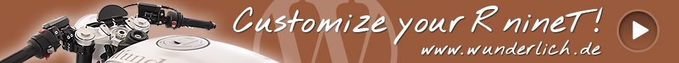 Customize your R nineT! www.wunderlich.de