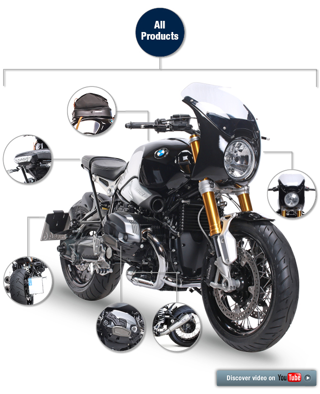 everything for your bmw r ninet. Black Bedroom Furniture Sets. Home Design Ideas