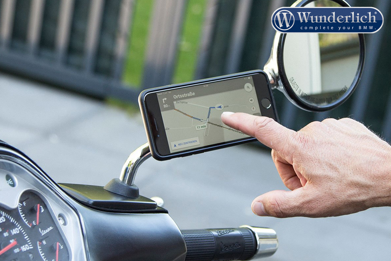 Smartphone Halterung iPhone XR SP Gadgets Moto Mirror Bundle SP Connect