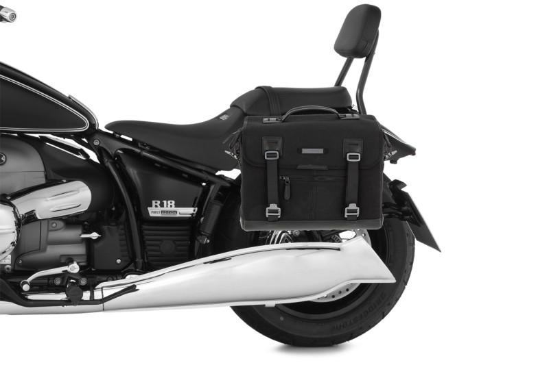 Adaptersatz für Rückenstütze in Kombination mit original Seitentaschen
