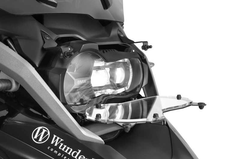 Wunderlich Scheinwerferschutz klappbar »CLEAR«