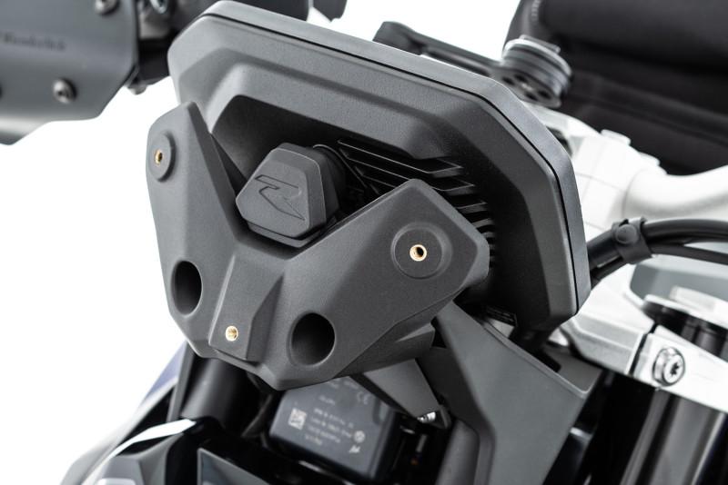 Halterung für die »MARATHON« Verkleidungsscheibe der BMW F 900 R