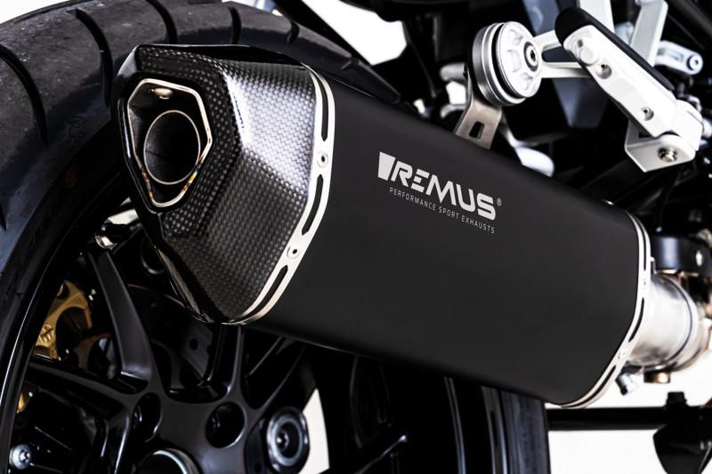 REMUS Slip-on Endschalldämpfer BLACK HAWK