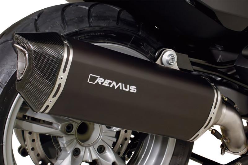 REMUS Slip-on Endschalldämpfer BLACK HAWK (EURO 4)