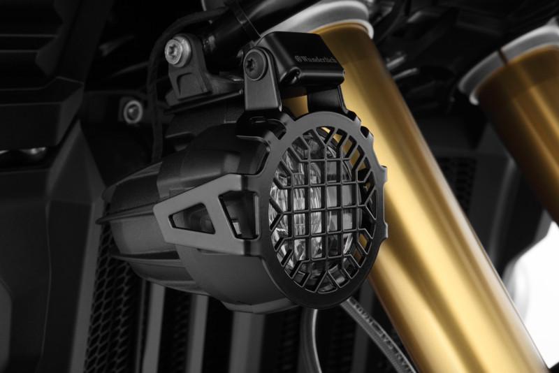 Wunderlich Lampenschutzgitter für original LED Zusatzscheinwerfer NANO