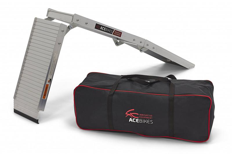 Klappbare Aluminium-Motorradrampe Acebikes »Compact«