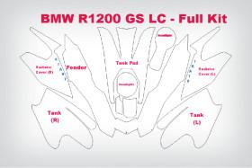 Lackschutzfolie komplett R 1200 GS LC
