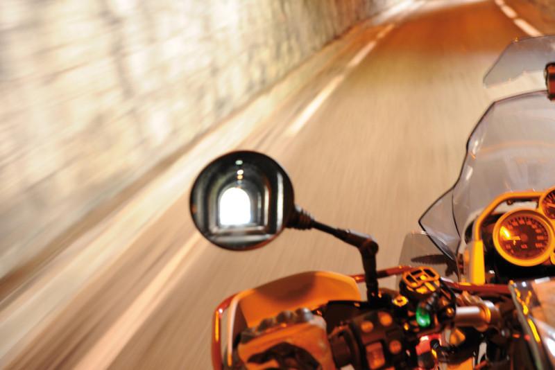ERGO-Sport Motorrad Spiegel Rund
