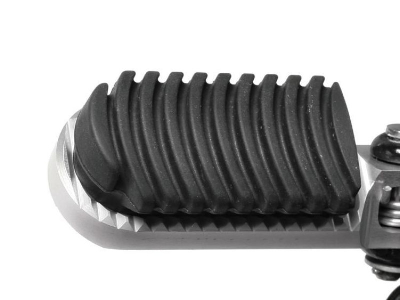 Foot peg rubber for lowering footrest »ERGO-COMFORT«