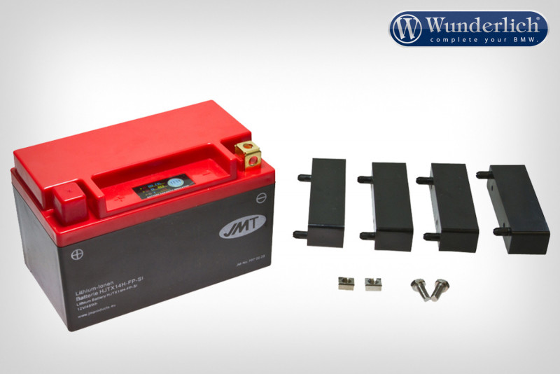 Lithium Ionen battery with level indicator