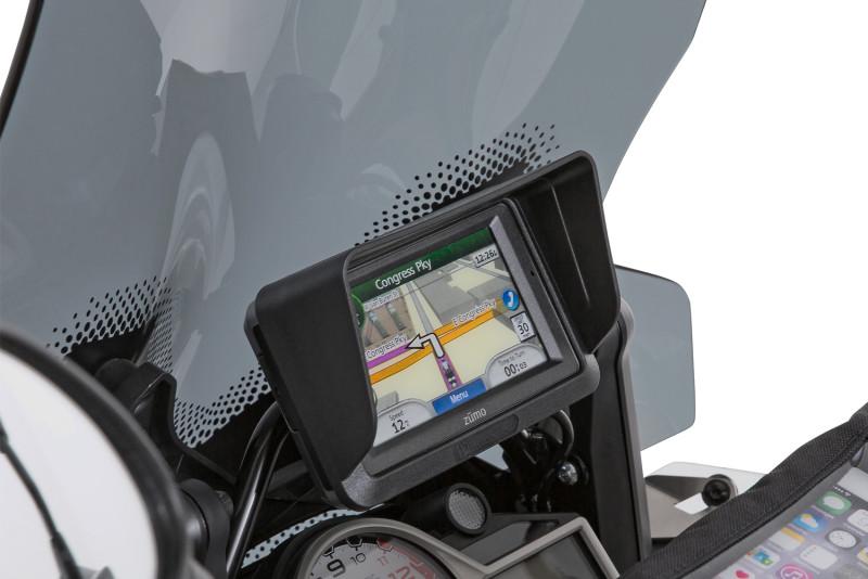 Device glare shield BMW Navigator IV + Garmin Zumo 660