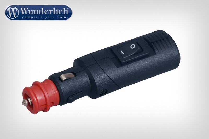 Universal plug with switch