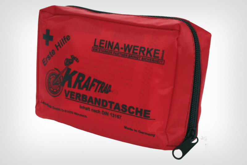 Kraftrad First-Aid Bag equates to DIN 13167