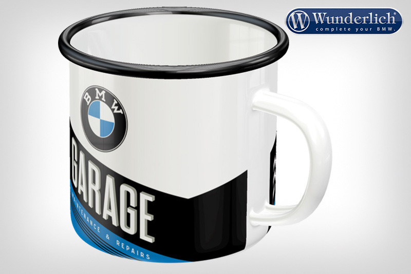"Enamel cup ""GARAGE"" from Nostalgic Art"