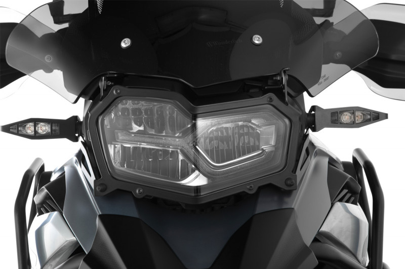 Wunderlich Headlight protector foldable »CLEAR«
