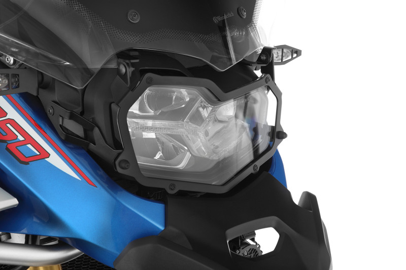 Wunderlich headlight protection grille, foldable, »CLEAR« for F 850 GS