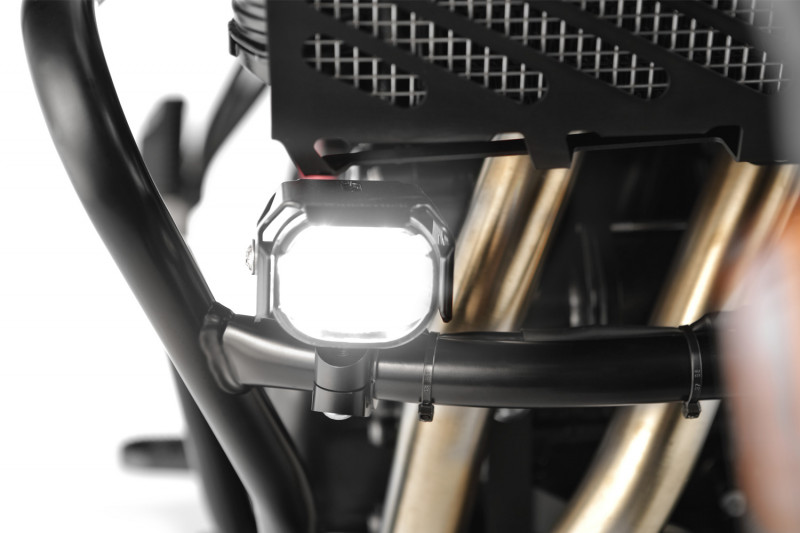 Wunderlich »MICROFLOOTER« LED auxiliary headlight for protection bar