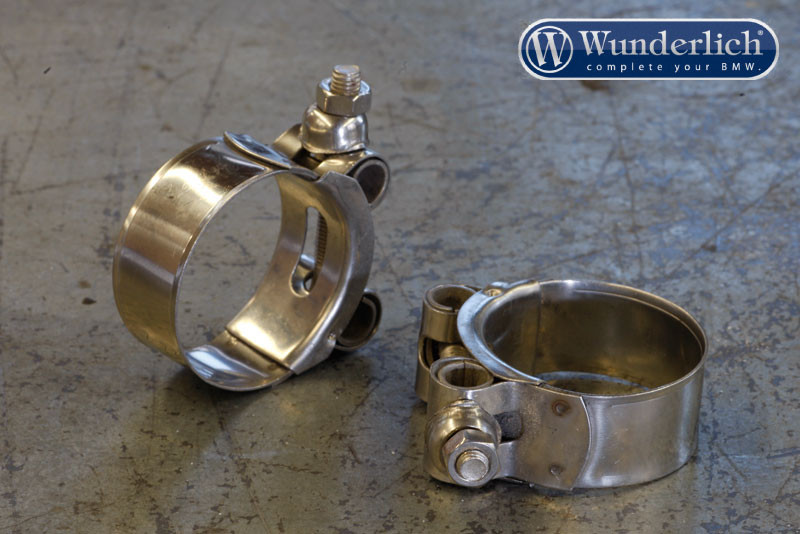Stainless steel exhaust clamp