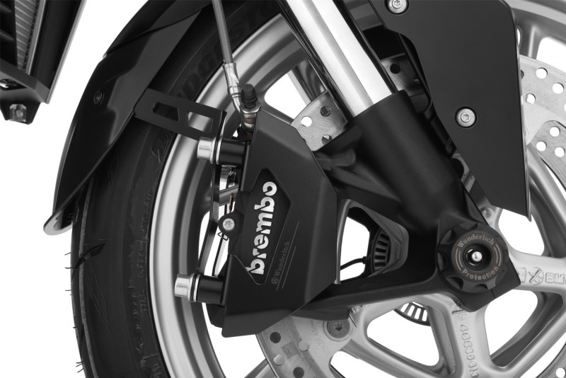 Brake caliper cover front set