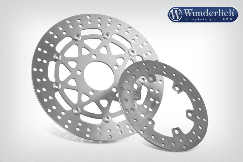 TRW Lucas brake disc rear
