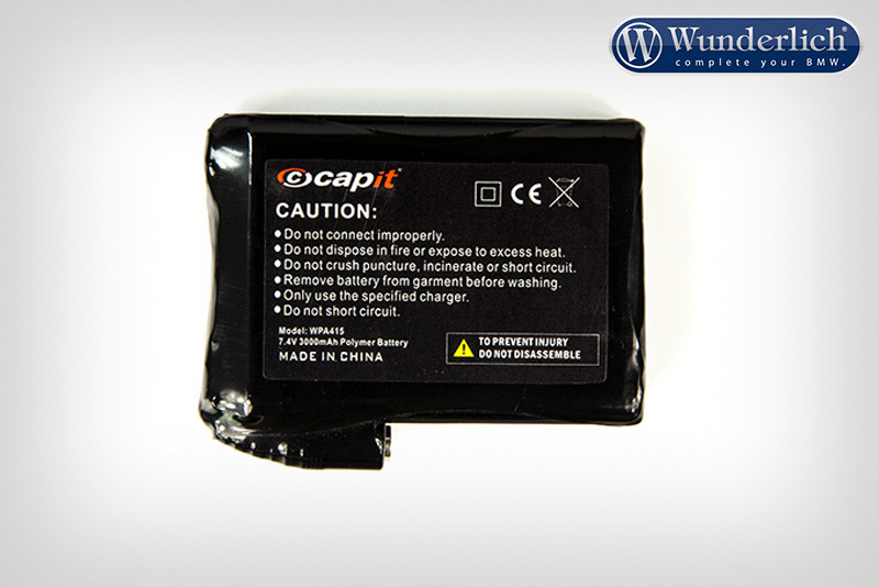 Battery for E-Vest heated vest