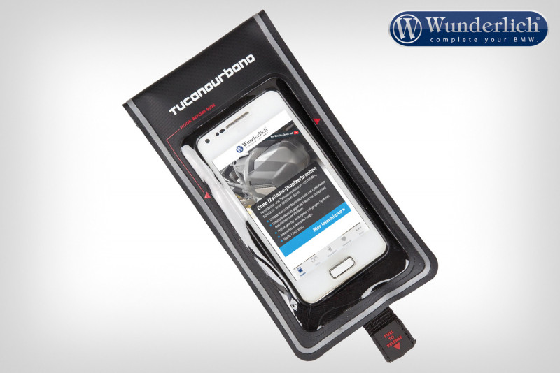 Smartphone pocket for Thermoscud PRO and Gaucho PRO leg protectors