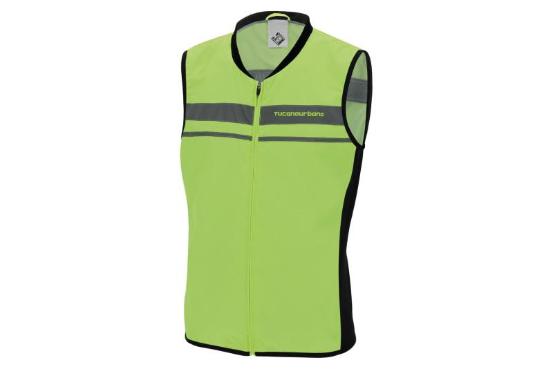 »NANO FLEX GILET« Tucano Urbano high-visibility vest