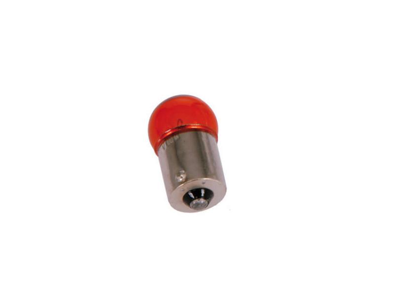 Standard indicator bulb yellow for white indicator lenses