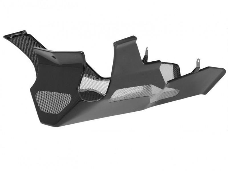Carbon fibre belly pan