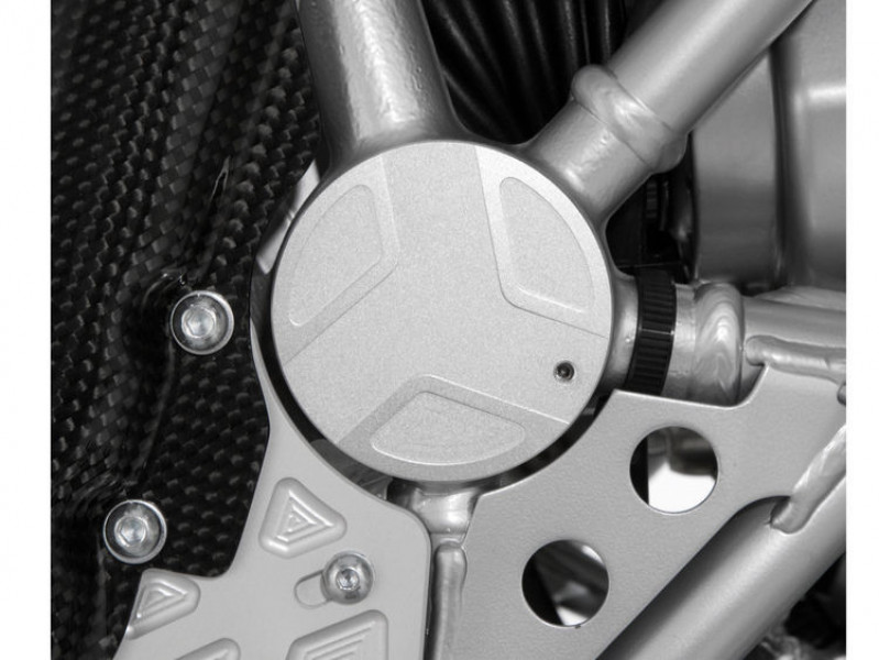 Swingarm pivot covers EDGE design, right