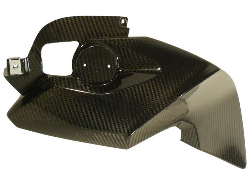 Carbon fibre frame covers left