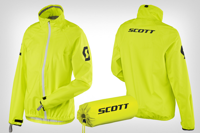 Scott Ergonomic Pro DP Größe size L Regen Jacke rain jacket gelb yellow NEU