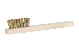 Spark plug brush