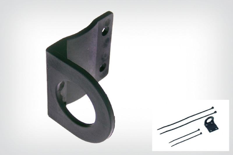 Socket bracket for motorcycle electrical socket