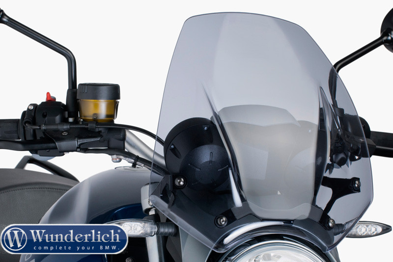 Windscreen Sport R1200R smoke grey