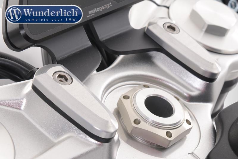 Motoscope holder for stub handlebars