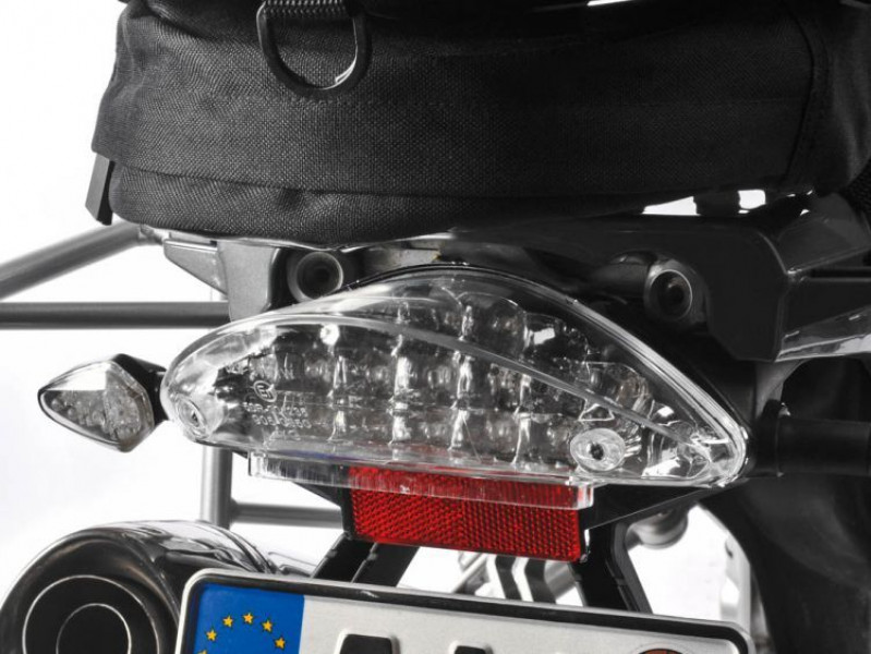 LED clear rear light