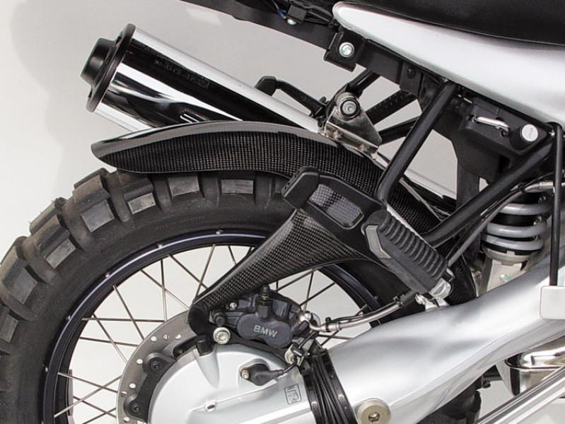 Rear wheel cover carbon