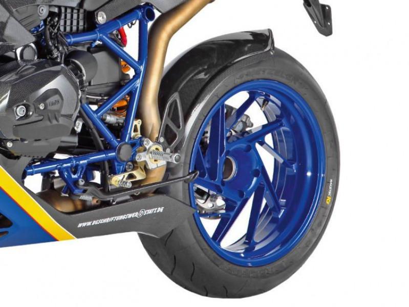 Carbon rear wheel cover