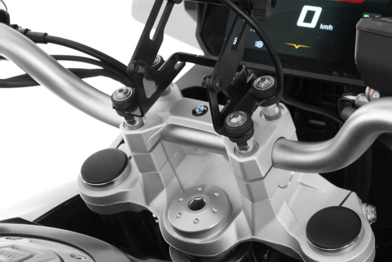 """Wunderlich Rehausse de guidon """"ERGO"""" pour modèles BMW avec GPS"""