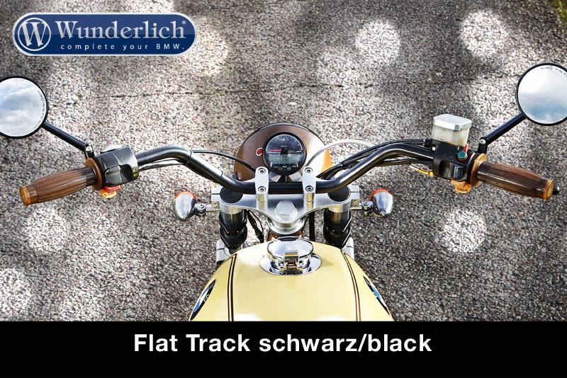 Guidon Flat Track noir