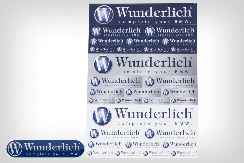 Feuille d'autocollants «Wunderlich»