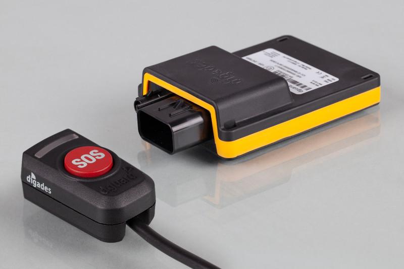 Système d'appel d'urgence automatique pour motos dguard® MJ2021