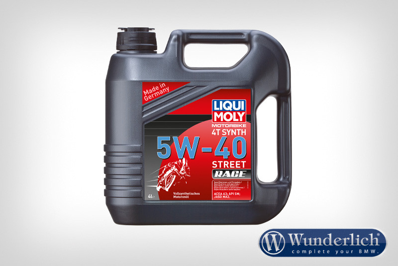 Huile racing synth LIQUI MOLY 4T 5 W-40