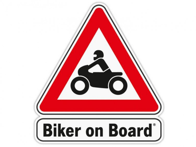Autocollant «Biker on Board»