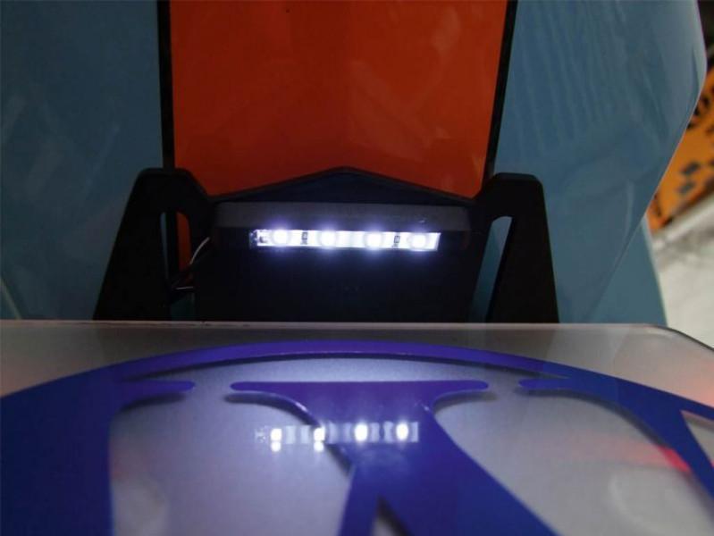 Eclairage de plaque minéralogique à LED FineLiner