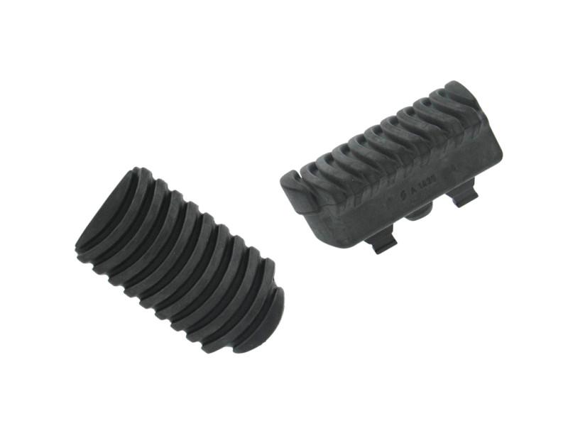 Tampons de caoutchouc compatibles avec les reposes-pieds abaissés ERGO