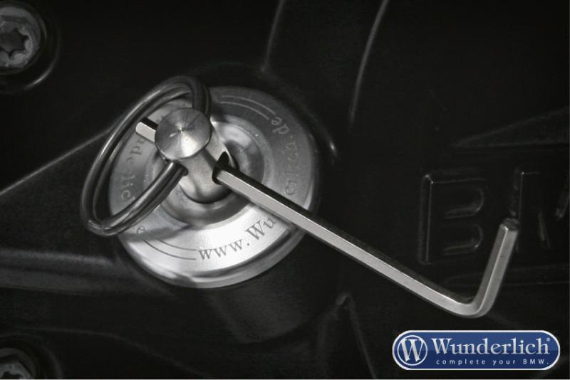 Wunderlich Kit de modification du bouchon d'huile de sécurité «Dry-Sav