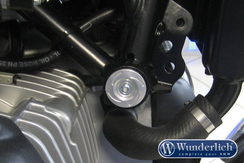Wunderlich capuchon de fixation arrière du moteur